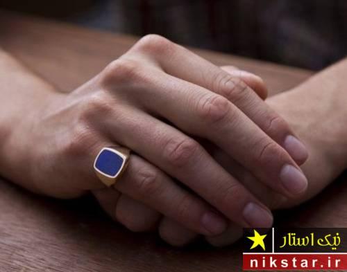 مدل انگشتر فیروزه مردانه