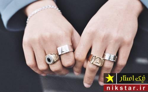 مدل انگشتر مردانه اسپرت