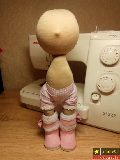 الگوی لباس عروسک روسی