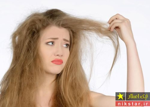 درمان موهای سوخته با روغن زیتون