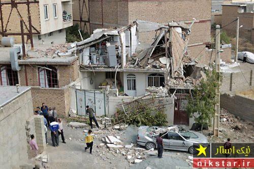 انفجار گاز در سنندج