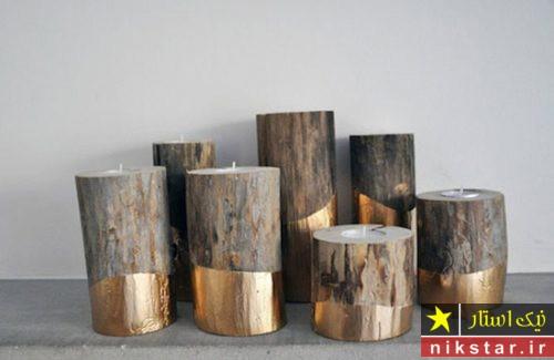 جاشمعی چوبی