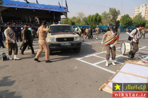 حمله تروریست ها به رژه