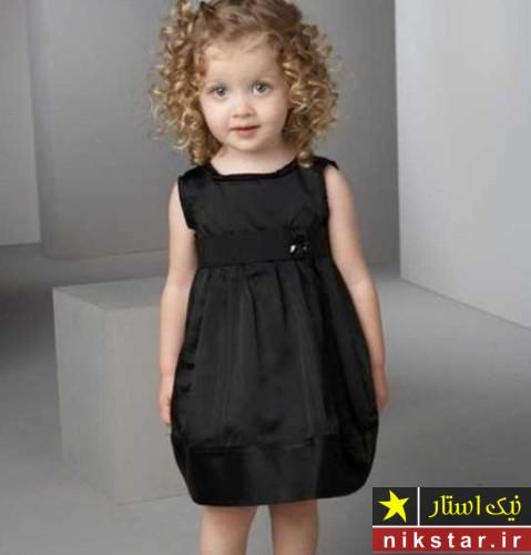 لباس مجلسی دخترانه سیاه