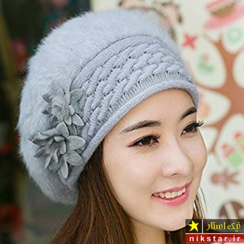کلاه های بافتنی دخترانه و زنانه
