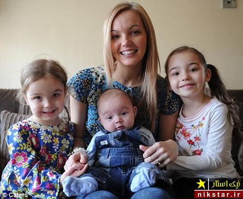 عجیب ترین مادر جهان با سه دخترش
