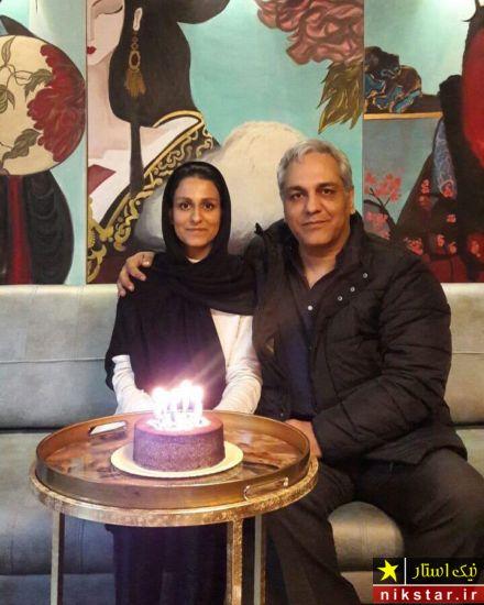 عکس خانواده مهران مدیری در جشن تولد دخترش شهرزاد