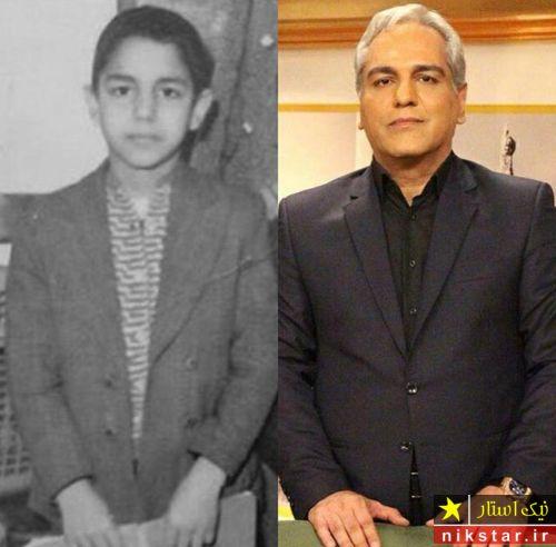 عکس کودکی مهران مدیری