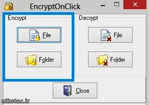 رمزگذاری بر روی فایل های کامپیوتر