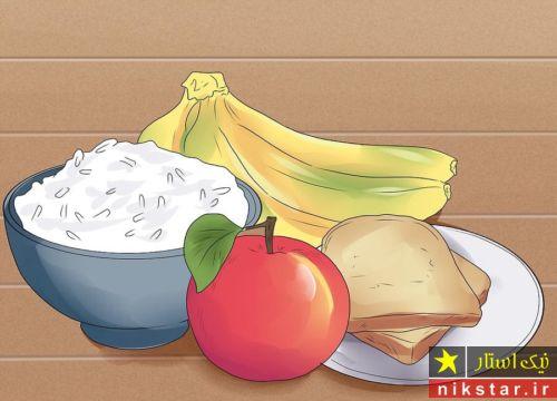 غذای مناسب برای درمان اسهال بزرگسالان و کودکان