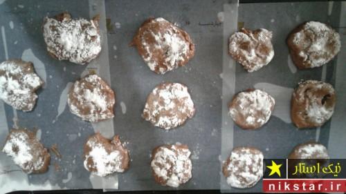 دستور پخت کوکی شکلاتی