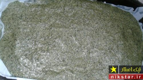 آموزش تصویری طرز درست کردن کوکو سبزی