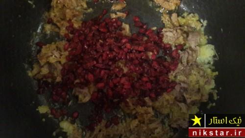 طرز پخت شاه پلو جنوبی