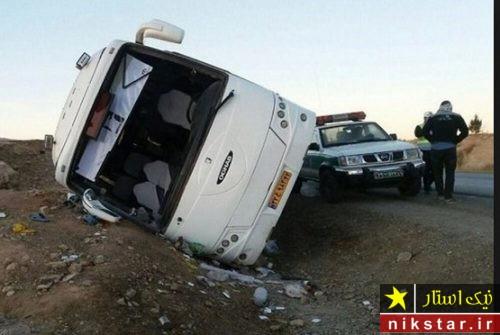 تصادف مرگبار اتوبوس دانش آموزان