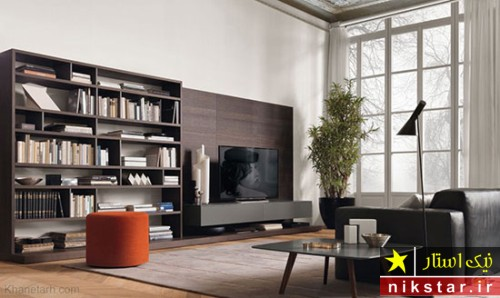 چیدمان تلویزیون های دیواری