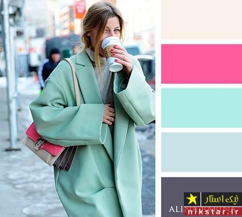 رنگ های پاییزی برای لباس های زنانه