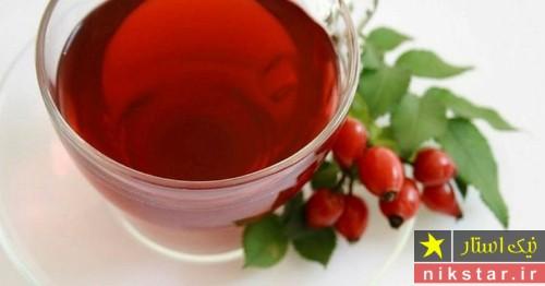 چای میوه گل نسترن