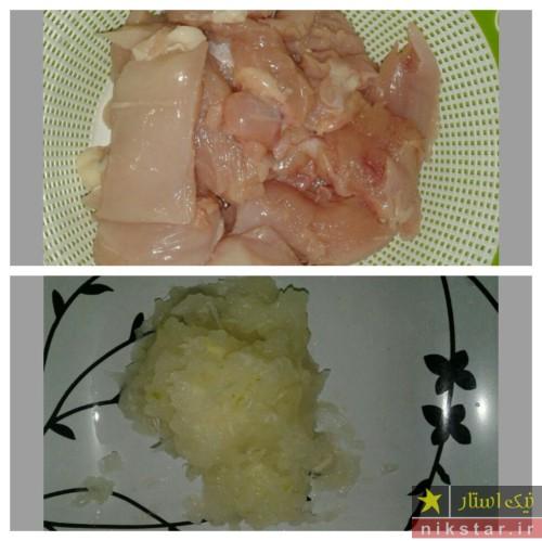 طرز تهیه کباب تابه ای با مرغ چرخ کرده
