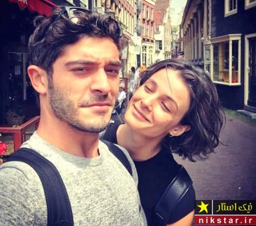 بوراک دنیز و دوست دخترش