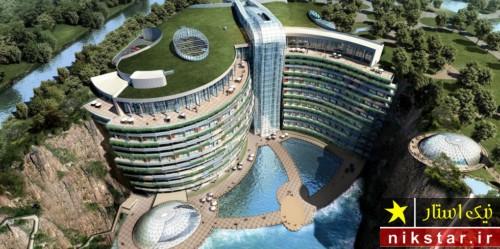 هتل لوکس و مجلل در اعماق زمین
