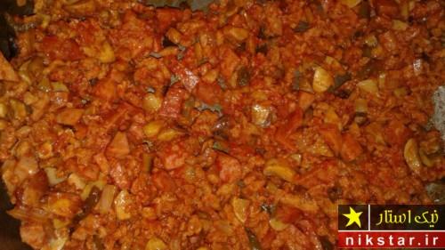طرز پخت لازانیا