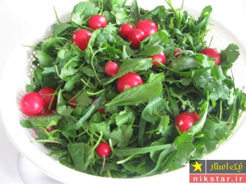نگهداری از سبزی خوردن