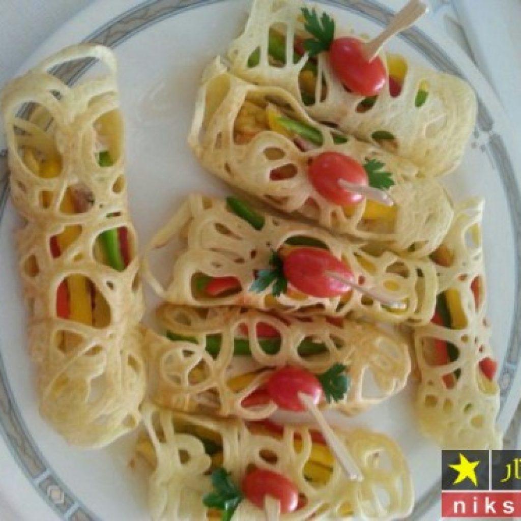 طرز تهیه نان گیپور تابه ای