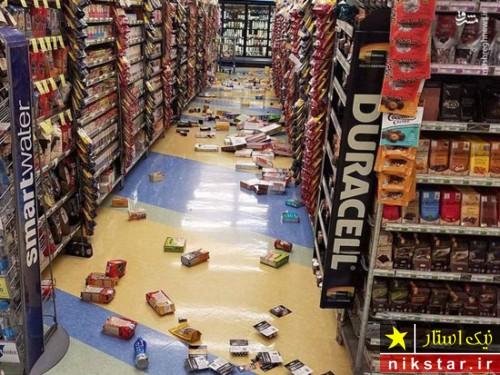 زلزله وحشتناک در آلاسکا