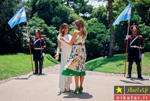 ملانیا ترامپ در آرژانتین