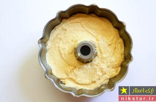 طرز تهیه کیک با پودر کیک آماده