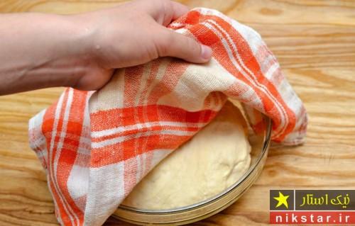 طرز تهیه خمیر نان