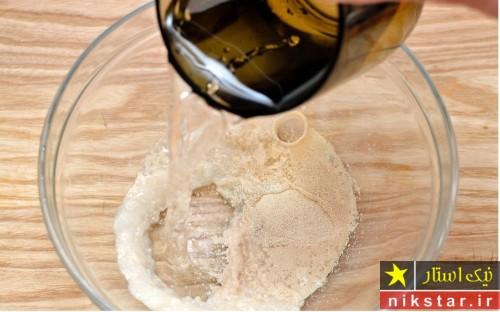 طرز تهیه خمیر نان خانگی