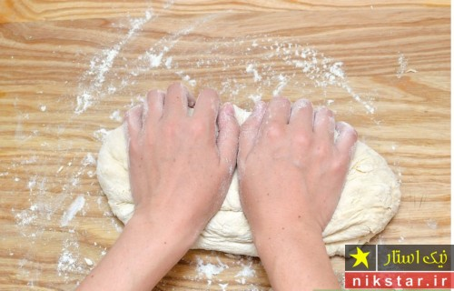 طرز تهیه خمیر نان لواش