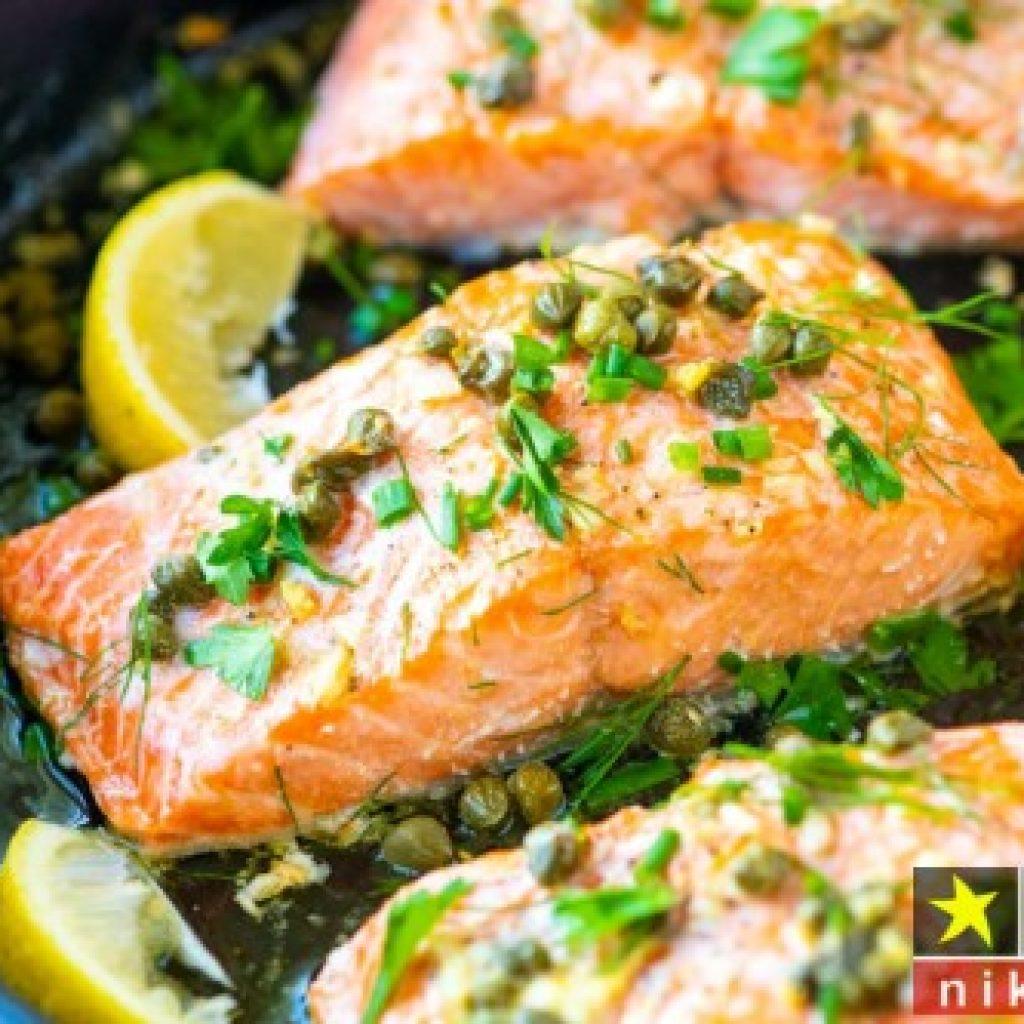 روش مزه دار کردن ماهی سالمون