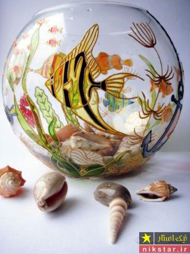 تزیین تنگ ماهی عید