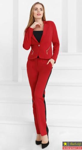 مدل کت شلوار دخترانه مجلسی