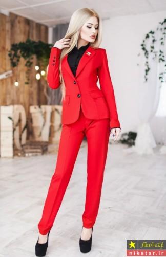 مدل کت شلوار مجلسی زنانه سکسی