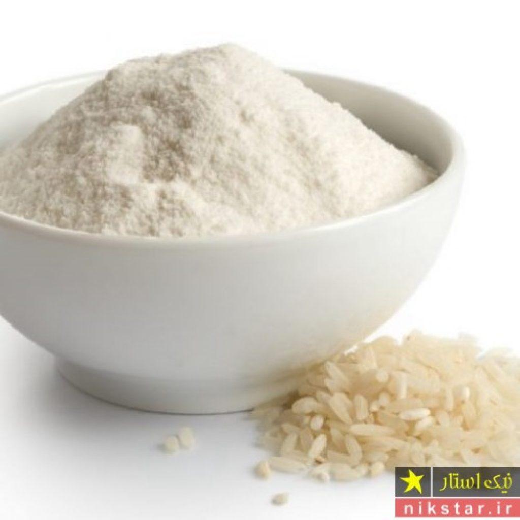 طرز تهیه آرد برنج برای نوزاد