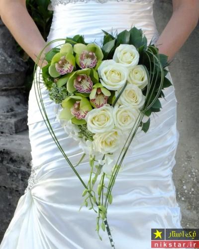 دسته گل عاشقانه برای عروس