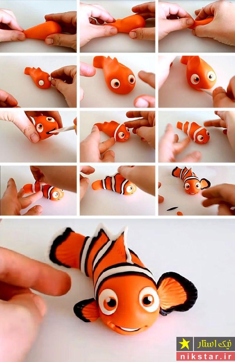 آموزش ساخت عروسک خمیری