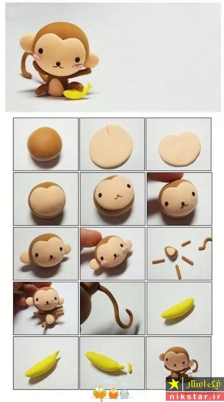 آموزش ساخت عروسک خمیری فانتزی