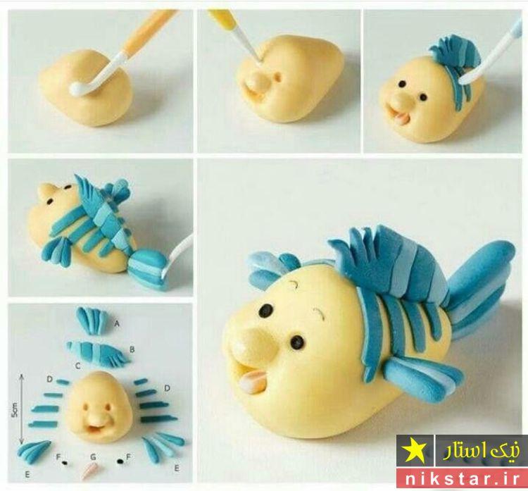عروسک خمیری ماهی