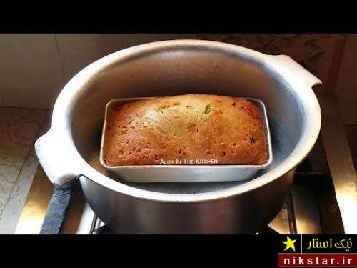 طرز تهیه کیک با ماست بدون فر