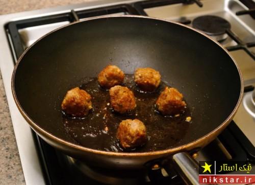 طرز تهیه کوفته مرغ سرخ شده