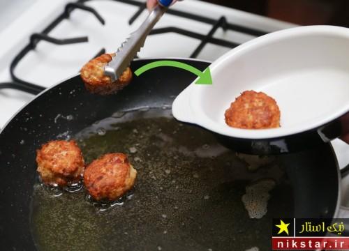 طرز تهیه کوفته مرغ ساده