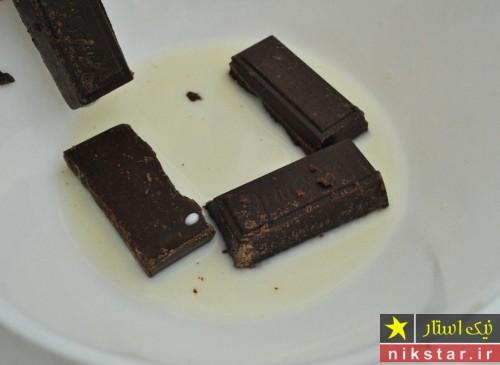 طرز تهیه شیرینی شکلاتی مغزدار