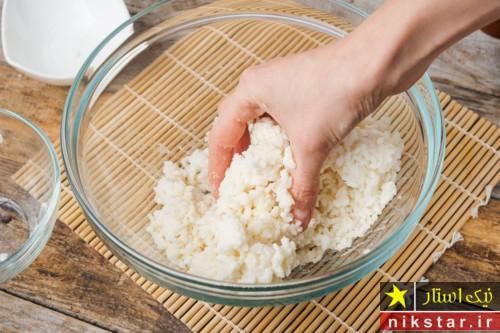 طریقه پخت کوفته برنجی ژاپنی
