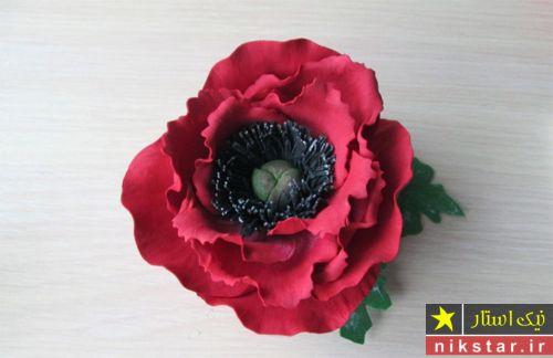 ساخت گل های زیبا با فوم