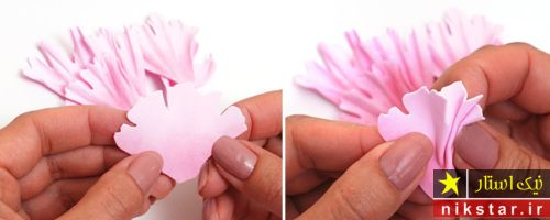 الگوی گلسازی با فوم