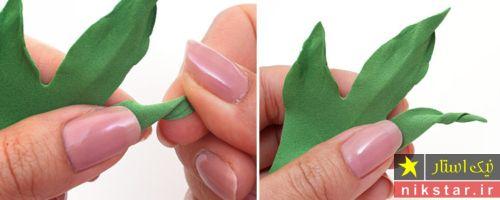 آموزش گلسازی با فوم همراه با الگو